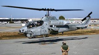 getlinkyoutube.com-AH-1W Super Cobra lands at San Carlos Airport HeliFest 2011