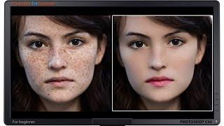 getlinkyoutube.com-Photoshop CS6: Xử lý da mặt ảnh chân dung (skin retouch)