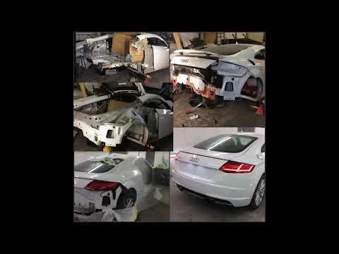 Audi TT accident repair service Nottingham/Bobi's cars-UK car body repairs