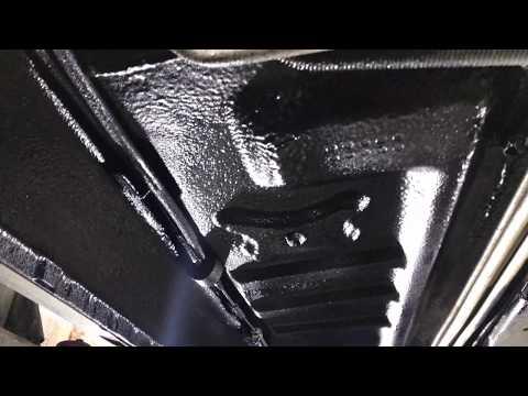 Ford Explorer защита днища от коррозии. Жидкая шумоизоляция без разбора салона машины