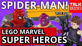 getlinkyoutube.com-LEGO NEW Captain America Civil War Set Pictures Revealed! New Spider-Man! My Thoughts!