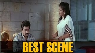 Siddique and Devi chandana Best scene ||  Bharthavudyogam