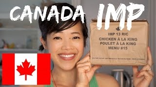 Canada IMP | Canadian Individual Meal Pack MRE Taste Test