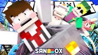 getlinkyoutube.com-추가된 레일모드로 4인협동 롤코만들기!! [레일추가 모드: 마인크래프트 롤러코스터 만들기] Minecraft - Expanded Rails Mod - [도티]