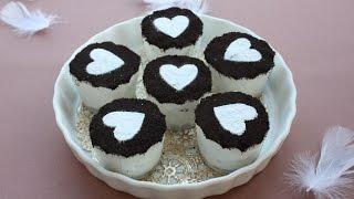 getlinkyoutube.com-オレオチーズケーキ 混ぜて冷やすだけでこの美味しさ!!