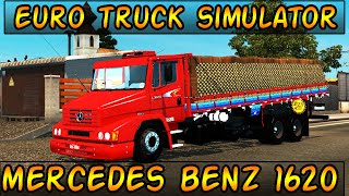getlinkyoutube.com-Euro Truck Simulator 2 - Mod MERCEDES-BENZ 1620  - Mapa EAA