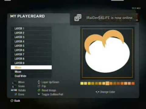 Call of Duty Black Ops Player Card Emblem : Pringles Man