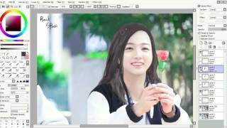 getlinkyoutube.com-Photoshopping BTS Jungkook (to female version)