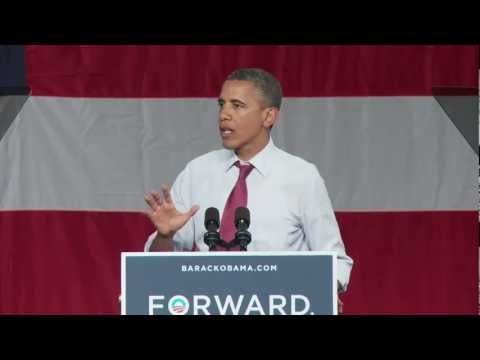 President Obama on Mitt Romney's Tax Hike - Orlando, FL