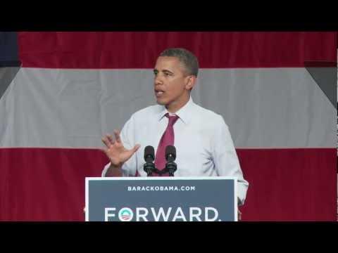 President Obama on Mitt Romney's Tax Hike - Orlando, FL