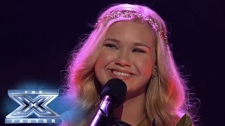 "getlinkyoutube.com-Rion Paige Sings ""Your Song"" - THE X FACTOR USA 2013"
