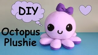 getlinkyoutube.com-DIY Octopus Plushie!!! | with Free Templates