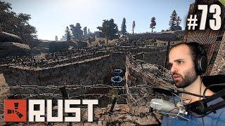 getlinkyoutube.com-Rust #73 | NOS VAMOS DE VISITA DE CASAS | Gameplay Español
