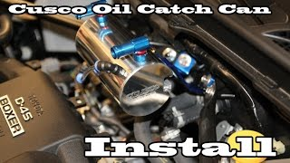 getlinkyoutube.com-Cusco Oil Catch Can Install & Unboxing - brz/frs/gt86
