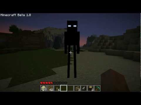 Minecraft 1.8 Enderman Leaked Footage