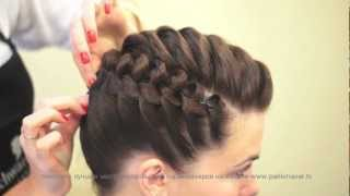 getlinkyoutube.com-Деловая прическа. Stylish haircut. parikmaxer.tv парикмахер тв