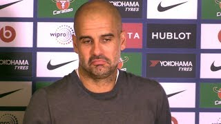 Chelsea 0-1 Manchester City - Pep Guardiola Full Post Match Press Conference - Premier League