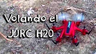 getlinkyoutube.com-VUELO NANO DRONE JJRC H20 EN ESPAÑOL: mejor nano hexacopter calidad precio