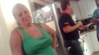 getlinkyoutube.com-Esther Flashing Her Boobs!