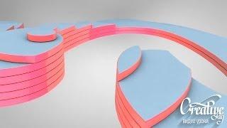 getlinkyoutube.com-Cinema 4D Spline Text Tutorial Урок  по созданию Интро