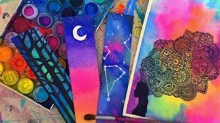 getlinkyoutube.com-Mi secreto para pintar con Acuarelas!! Dani Hoyos Art