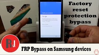 getlinkyoutube.com-How to bypass Factory Reset Protection on Samsung devices