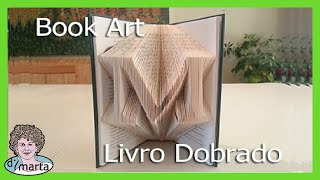 getlinkyoutube.com-Folded Book Art using Photoshop. Arte feito de Paginas Dobradas.