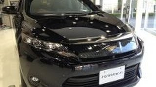 getlinkyoutube.com-TOYOTA 高級SUV新型HARRIER プレミアムガソリン車!