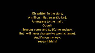 Tinie Tempah - Written In The Stars (feat. Eric Turner) (ON SCREEN LYRICS)