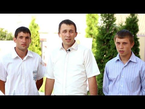 Водное крещение Владимира и Олега!