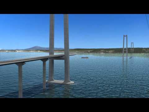 Maqueta virtual Puente Chacao