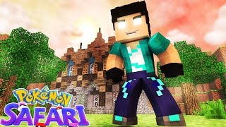 Minecraft: POKEMON SAFARI #05 - CASA NOVA!!!