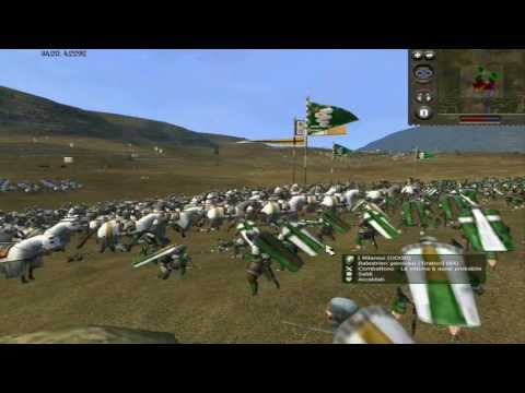 Medieval 2 Total War Battle Dualcommentary: Papisti vs Milanesi By Magister & Oddo - Parte 1/2