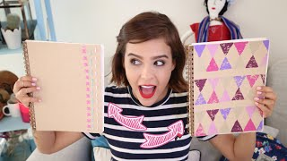 getlinkyoutube.com-¡DECORA CUADERNOS MUY COOL! ♥ - Yuya