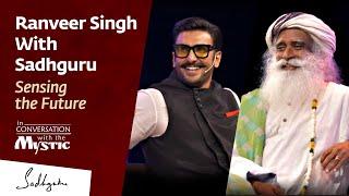 Ranveer Singh With Sadhguru [ FULL CONVERSATION ] @IIMBue 2018 width=