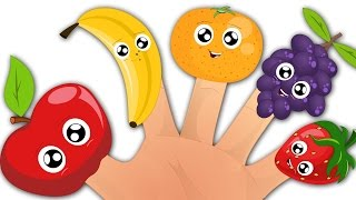 Fruits Finger Family | Fruits Song | Nursery Rhymes