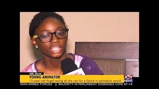 Young Animator - AM Business on JoyNews (13-12-17)