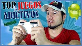 TOP 5 JUEGOS ADICTIVOS PARA ANDROID