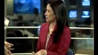 getlinkyoutube.com-Geo News Anchor Shaista Fights with Makeup Artist Ambreen From Asad Nadeem