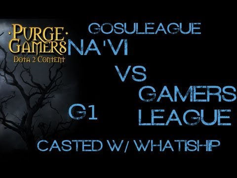 Na'Vi vs GL g1 GosuLeague w/ WhatIsHip