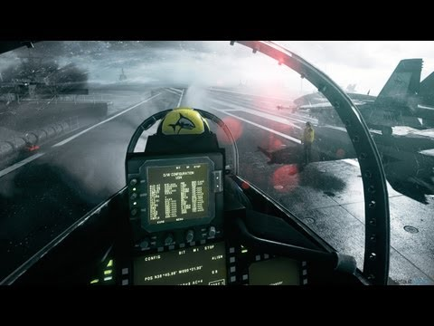 Battlefield 3: Jet Gameplay - Walkthrough - Part 4 [Mission 4: Going Hunting] [Xbox 360/PS3/PC]