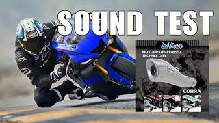 getlinkyoutube.com-Leo Vince Cobra Exhaust for Yamaha Sniper T135 Sound Test
