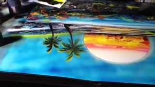 getlinkyoutube.com-Sunset spray paint art