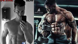 getlinkyoutube.com-3 Years Body Transformation by Jil - Skinny to 3% Bodyfat Beast