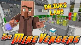 getlinkyoutube.com-Minecraft MineVengers - DR. ZUK AND HIS CRAZY LAB!!