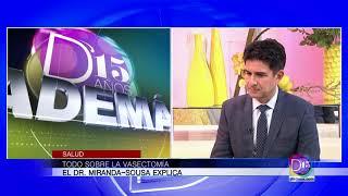 El urólogo Alejandro Miranda-Sousa nos habla de la Vasectomía