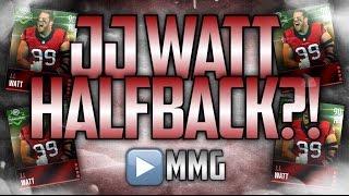 getlinkyoutube.com-HB J.J. Watt Is Unstoppable! Madden Mobile Gameplay/Review
