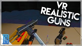 Hot Dogs, Horseshoes & Hand Grenades (VR) - Realistic Gun Game (HTC VIVE)
