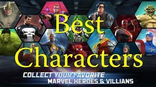 getlinkyoutube.com-Marvel Contest of Champions - Best Characters - Interview with Drummerboy26