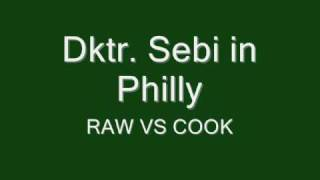 Dktr Sebi, Raw vs Cooked